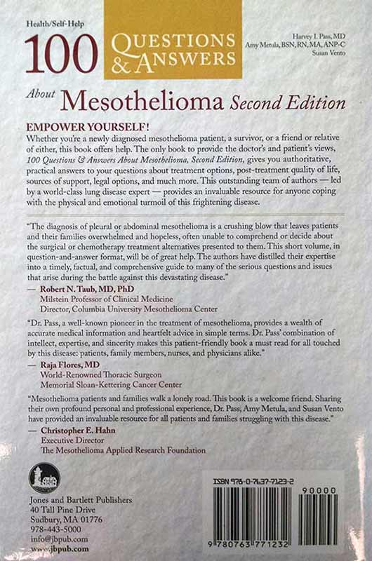 Free Mesothelioma Books to Help Patients and Loved Ones