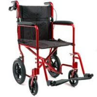 Caregiver Controlled (Pushed) Wheelchair
