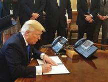 Donald Trump signs Choice Program bill