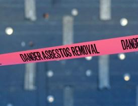 Asbestos removal tape