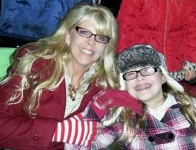 Karen Frantz with her daughter
