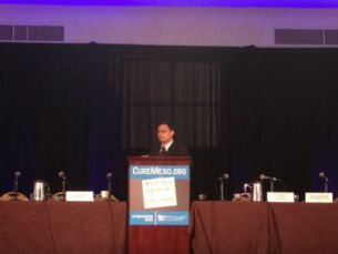 Dr. Ravin Garg at MARF 2012 Conference