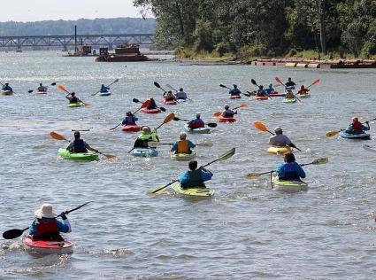 Kayaking 4 Meso 2011