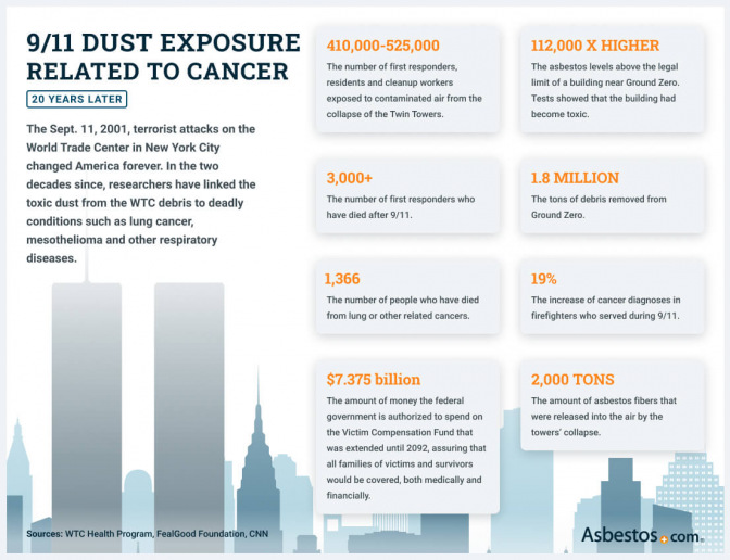 Asbestos and the World Trade Center Infographic
