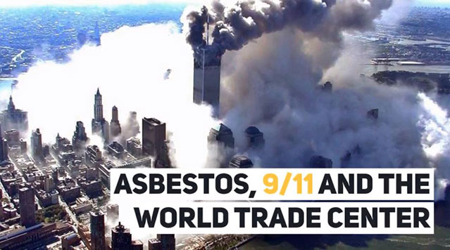 Video on the after effects of asbestos, 9/11 and the World Trade Center