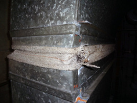 Asbestos Coarse Fabric Duct Connector