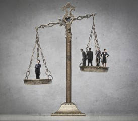 Balance scales of Law