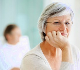 Woman Dealing with Caregiver Stress