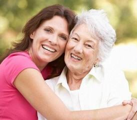 Caregiving on mothers day
