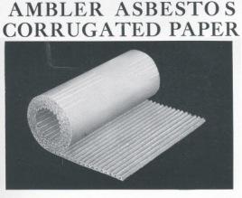 Corrugated Asbestos Paper