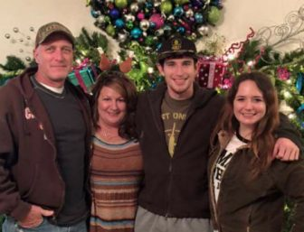 David Broyles and family