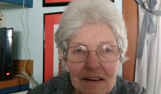 Emily Ward, mesothelioma survivor