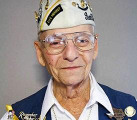 Pearl Harbor survivor Frank Curre