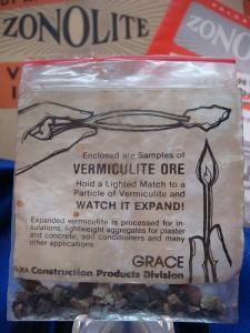 Vermiculite Ore in Bag