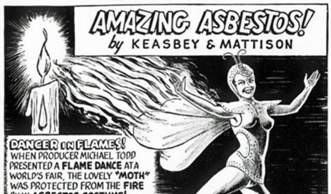 Keasbey & Mattison Asbestos Ad