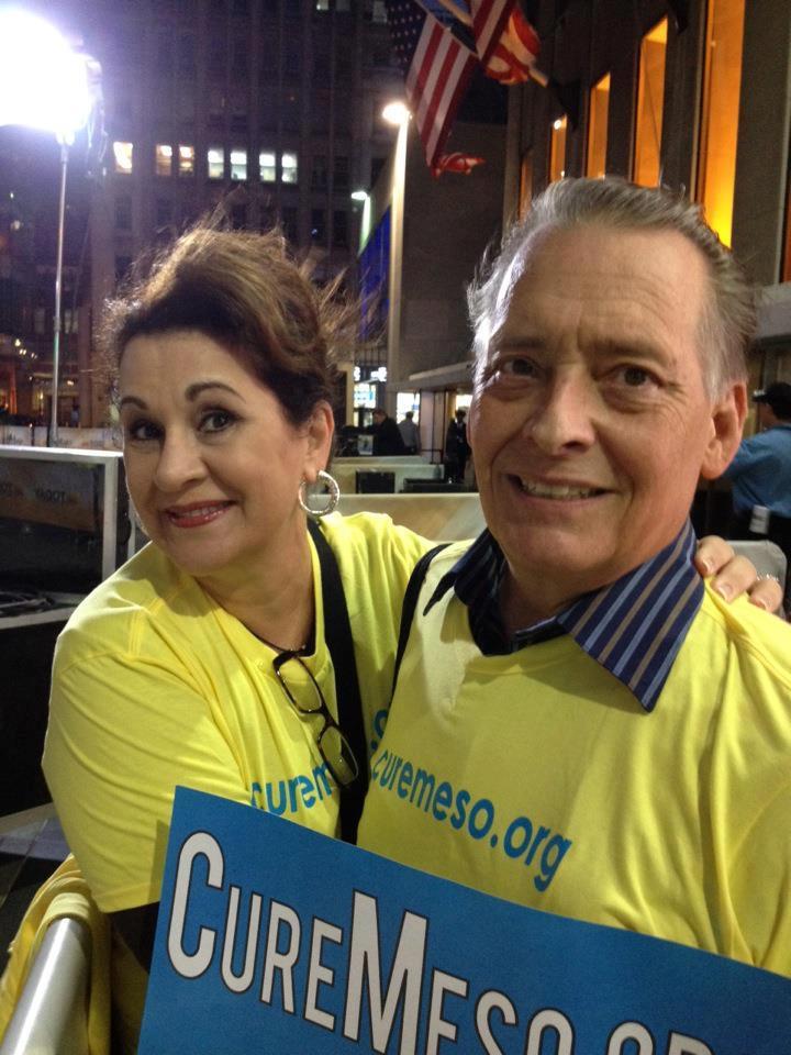 Karen and Bill McQueen Mesothelioma Awareness Advocates