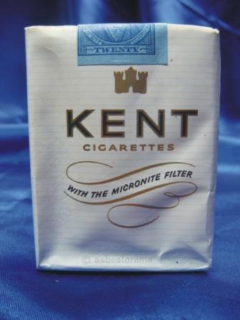 Kent cigarette packet