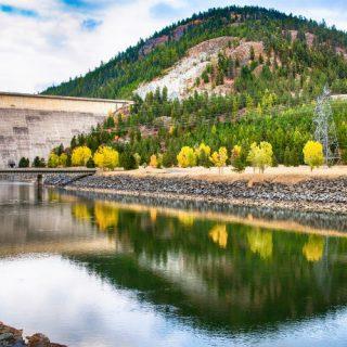 Libby Dam in Montana