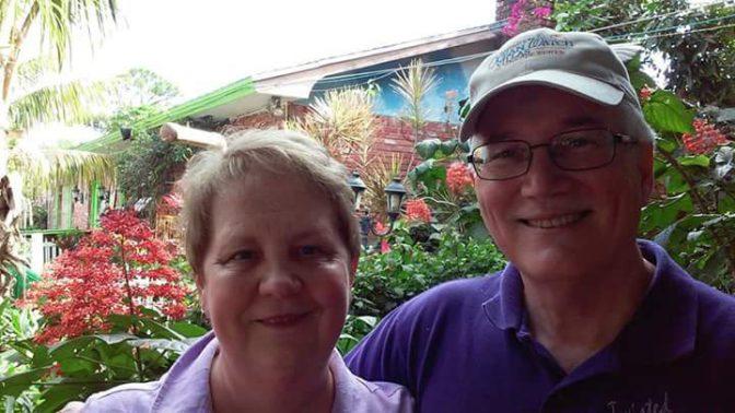 Loretta Wilbur and husband Jim