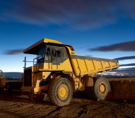 Mining tractor