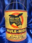 Can of Mulehide Asbestos Plastic Cement