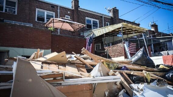 NYC Hurricane Ida flooding damage