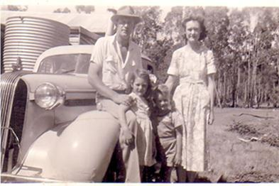 Pat Kember and her family