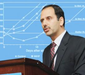 Medical oncologist Dr. Raffit Hassan