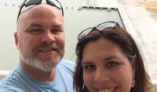 Randy Jarreau and wife Penelope
