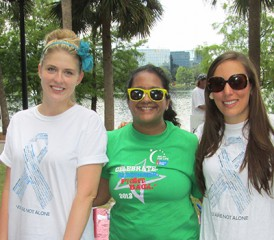 The Mesothelioma Center Attends Relay for Life
