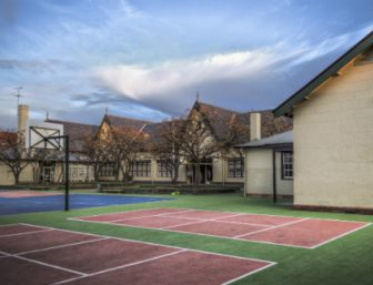 School yard in Australia