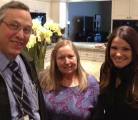Avi Lebenthal, Sheri D. and Kaylen Jackson
