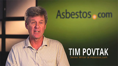 Video of Tim Povtak, Senior Writer for Asbestos.com explaining legal benefits for mesothelioma patients