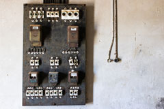 electrical switchboard panel