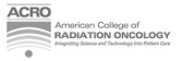 American College of Radiation Oncology logo