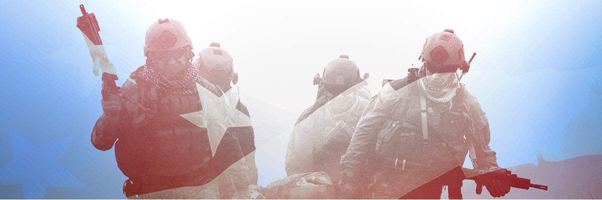 U.S. Military Collage