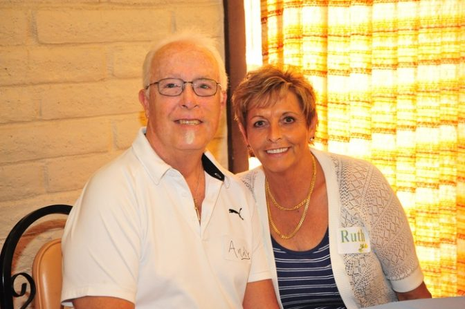 Mesothelioma survivor Andy Ashcraft with his wife Ruth
