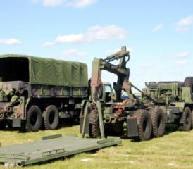 U.S. Army vehicles