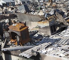 Tornado debris in Alabama