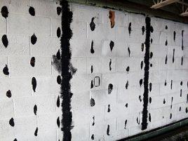 Asbestos Adhesive Walls