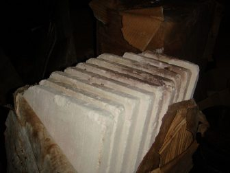 Asbestos blocks