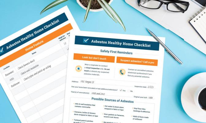 Asbestos Healthy Home Checklist