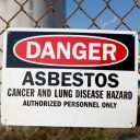 Danger Asbestos Warning Sign
