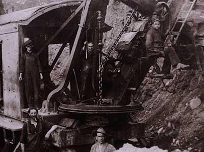 Asbestos Pit Miners