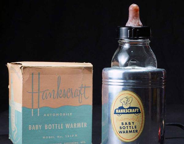 Hankscraft Asbestos-Lined Baby Bottle Warmer