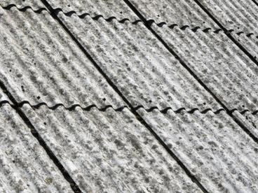 Asbestos roofing felt