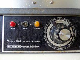 Asbestos Transite Oven