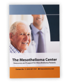 The Mesothelioma Center's trifold explaining our services