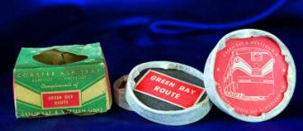 Railroad asbestos ashtrays