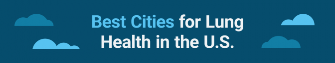 Best cities for lung health banner